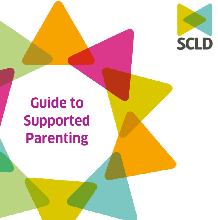 Cover image, guide to supported parenting