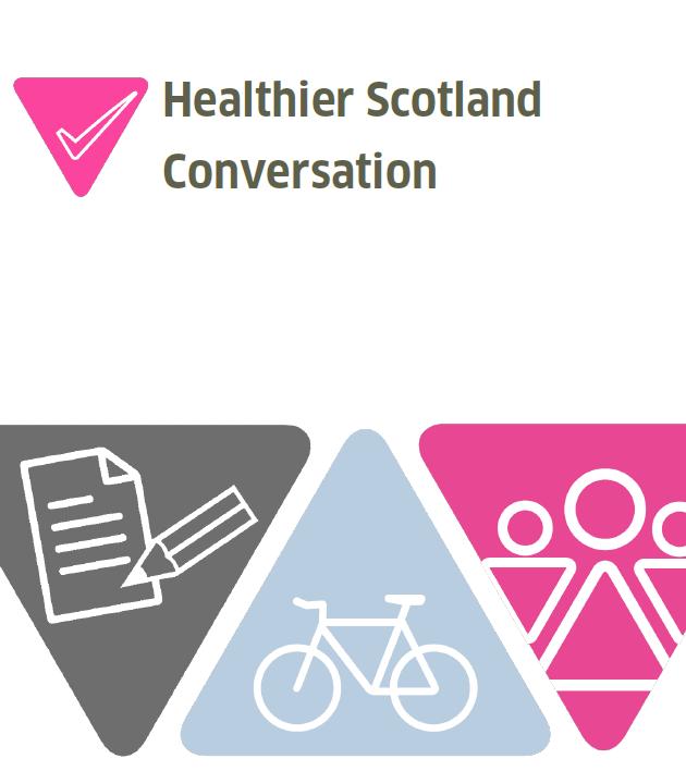 Healthier Scotland cover