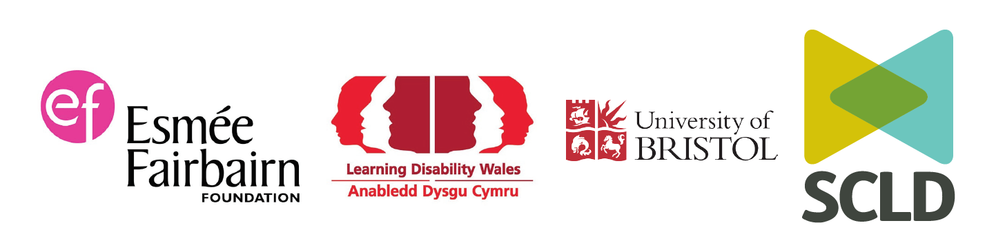 Esme Fairburn Foundation, Learning Disability Wales, University of Bristol, Scottish Commission for Learning Disability