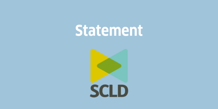A statement from SCLD